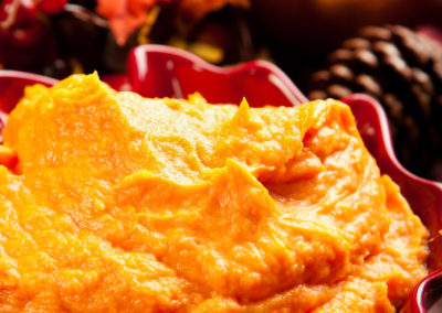 Mashed Ginger Sweet Potatoes