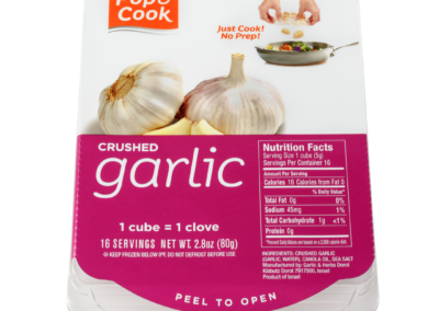 Crushed Garlic Tray